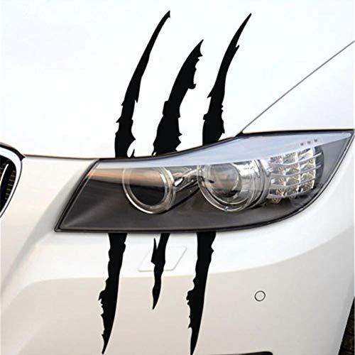 Futurepast Auto Kratzer Aufkleber, Klauen Aufkleber, 38cm Monster Klaue Aufkleber, Auto Krallen Kratzer Aufkleber für Fahrzeug LKW Dekoration by