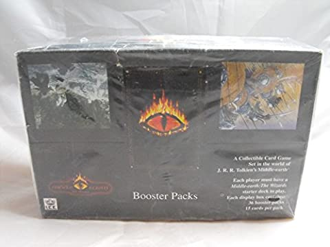 MIDDLE EARTH CCG, BLACK BORDER PREMIERE SEALED BOOSTER BOX OF 36 PACKS