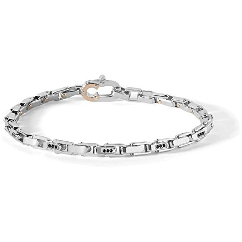bracelet-in-steel-and-pvd-rose-with-black-spinelli-comete-ubr-759