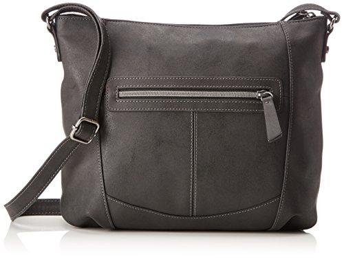 s.Oliver (Bags) - 39.801.94.4507, Borse a spalla Donna Nero (Black/schwarz)