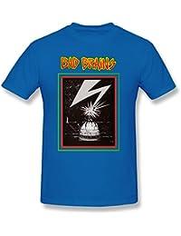 YOYAO Men's Bad Brains Capitol Short Sleeve T-Shirt