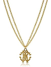 Roberto Cavalli Women's GQG797AM00100170 Gold Metal Necklace