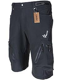 Lixada Outdoor Sport – pantalones transpirables con cremallera, negro