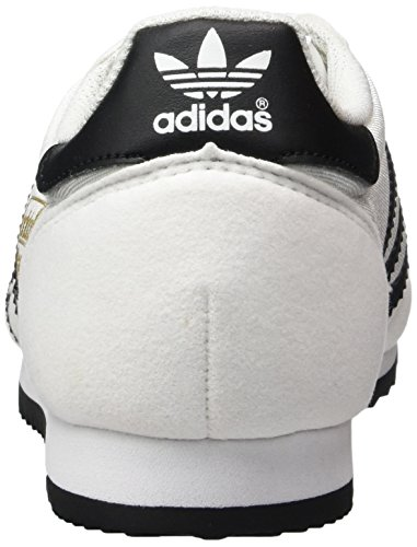 adidas Herren Dragon OG Trainer Low Weiß (Footwear White/core Black/gold Metallic)