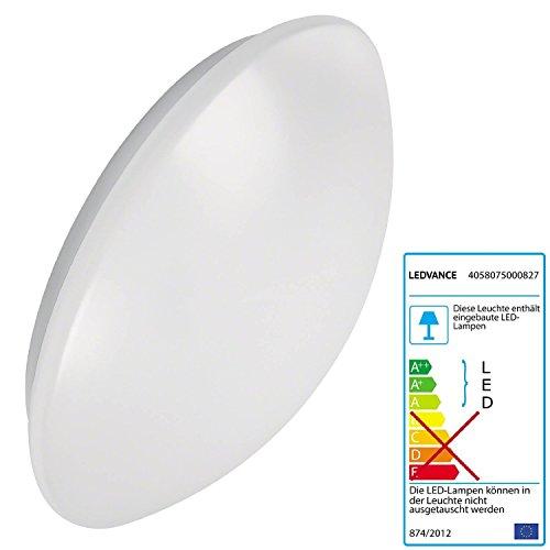 Preisvergleich Produktbild OSRAM LEDVANCE Survace Circular 400 Ovalleuchte LED 24 Watt weiß innen + außen IP44 40cm Bewegungsmelder Tageslichtsensor 830 warmweiß