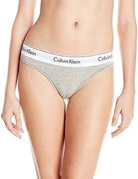 Calvin Klein donna moderno cotone Tanga Slip