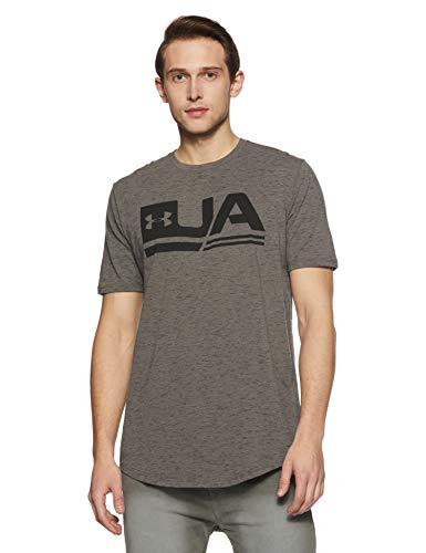 Under Armour Men's Plain Loose Fit T-Shirt (1318562-176_Fresh Clay_Medium)