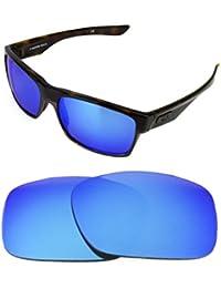 0fe8161f19 NEW POLARIZED CUSTOM ICE BLUE LENS FOR OAKLEY TWO FACE SUNGLASSES