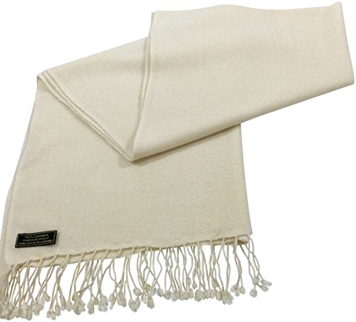 cream-high-grade-100-cashmere-shawl-scarf-wrap-hand-made-from-nepal-new