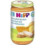 Hipp Kartoffel-Kürbis-Gemüse mit Bio-Hühnchen, 6er Pack (6 x 250g)