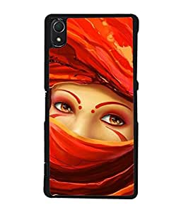 PrintVisa Appealing Eyes High Gloss Designer Back Case Cover for Sony Xperia Z2 (5.2 Inches)