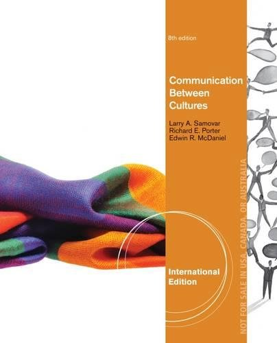 Communication Between Cultures, International Edition
