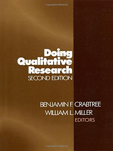 CRABTREE: DOING QUALITATIVE (P 2/ED) RESEARCH (Research Methods for Primary Care)