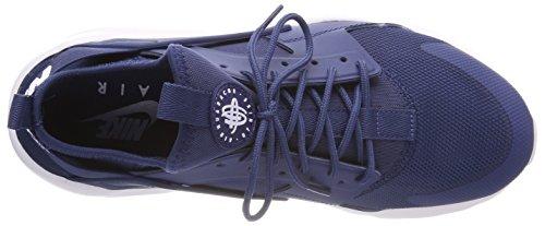 Nike Air Huarache Run Ultra, Chaussures De Sport Bleu Pour Hommes (marine / Blanc 409)