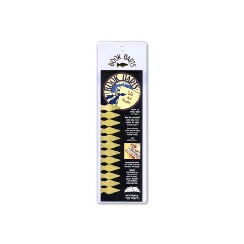 Book Darts Line Markers 12 Count Brass Metal Sleeve