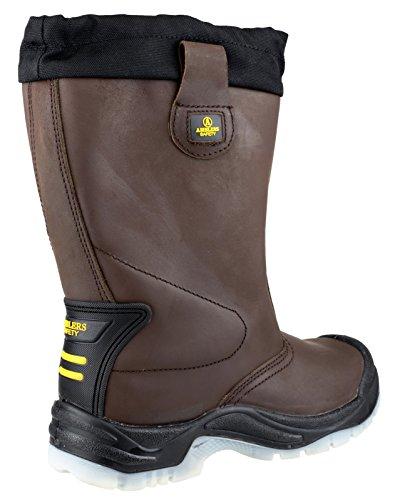 Amblers Steel FS152 - Chaussures de sécurité SB-P - Homme Black