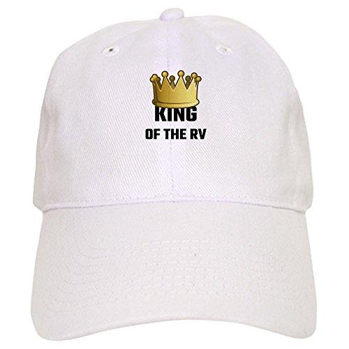 CafePress King of The RV - Baseball Cap with Adjustable Closure a7b6766e2dea