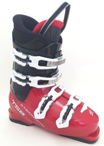 Tecno pro t50 rTL chaussures de ski alpin, ski-enfant-noir/rouge Rouge - Rouge/Noir