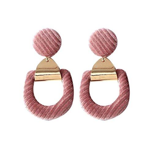 Streifen-Samt-Ohrringe - 1,85 EUR
