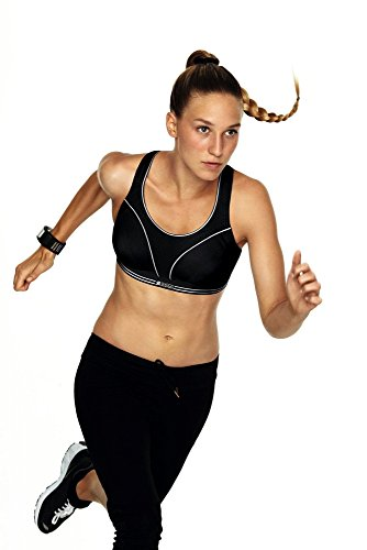 Shock Absorber (Ohne Bügel) Damen Sport BH Run, 335044, Gr. 85D, Schwarz (Schwarz 1001)