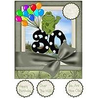 Sharon Poore - Tarjeta de felicitación de cumpleaños para 30 años