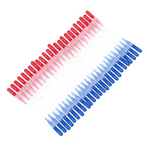 Preisvergleich Produktbild Idiytip Plasitc Floss Sticks Zahnseidenkopfhygiene Dental Kunststoff Zahnstocher Interdentalbürste Mundgesundheit