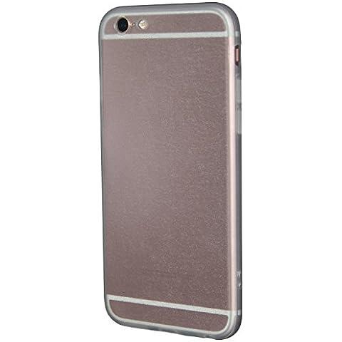 ICHOW Ultra delgado caja del teléfono de plástico duro Cubierta de superficie mate Resbalar-prueba Protector del rasguño libre para el iPhone 6 6S