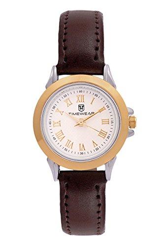 Timewear Analogue Pearl Dial Women's Watch - 107WDTL