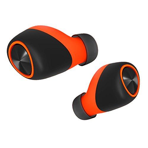 VerveOnes+ de Motorola - Auriculares de botón Bluetooth estéreo inteligentes completamente inalámbricos y IP57 resistentes al agua