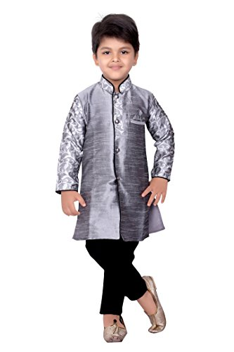 order best choice official BEDI'S Boys Sherwani Suit With Pyjama and Pant Indian Dress ...