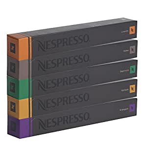 nespresso sortiment 50 espresso kapseln dhl lebensmittel getr nke. Black Bedroom Furniture Sets. Home Design Ideas