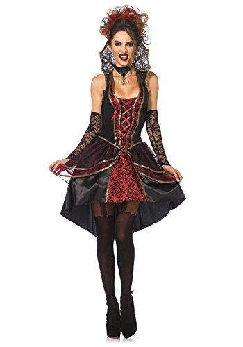 Leg Avenue 85435 - Vampir-Königin Kostüm, Größe Small (EUR - Für Halloween-kostüme Prominente
