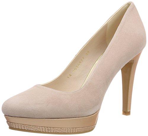 lodi Wendoly-39, Zapatos con Plataforma para Mujer, Rosa (Ante Candy/Opac Nude...