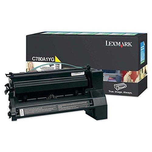 Preisvergleich Produktbild Lexmark Toner für C780/C782 Kapazität 6000 Seiten, gelb