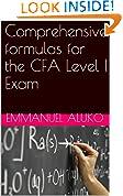 #6: Comprehensive formulas for the CFA Level I Exam