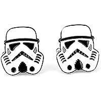 Star Wars StormTrooper Cosplay Cufflinks Gemelli + Confezione Regalo