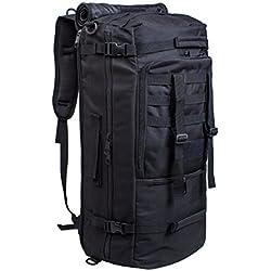 60L Multifunktionswasserdicht Militärische Taktische Molle Angriffs Rucksack Sport Rucksack Reisetasche Taschen Wochenend-Reisetasche Duffle Handgepäck