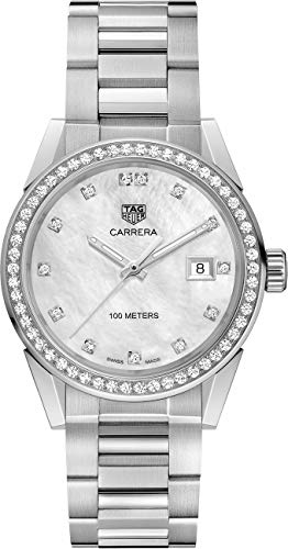 TAG Heuer Damen-Armbanduhr Carrera Quarz 36 mm WBG1315.BA0758