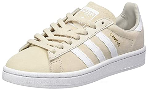 Adidas Damen Campus Basketballschuhe, Mehrfarbig (Clear Brown/Ftwr White/Crystal White S16), 39 1/3 EU