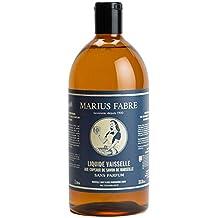 Marius Fabre Liquide vaisselle aux copeaux de savon de Marseille 1 L, sans parfum
