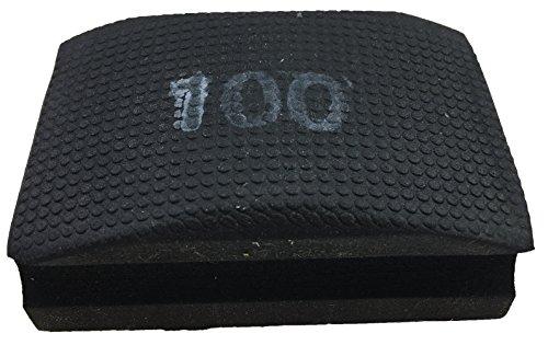 PRODIAMANT Profi Diamant-Handschleifpad / Schleifschwamm Körnung 100 zum schleifen, entgraten und polieren von Fliesenkanten