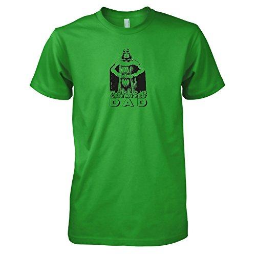 TEXLAB - World's Greatest Dad - Herren T-Shirt Grün