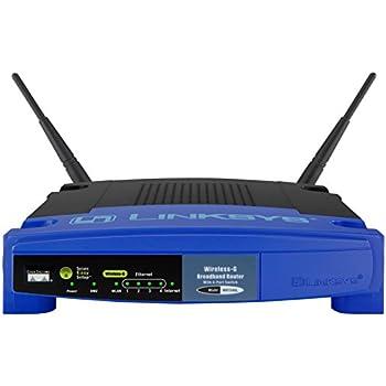 Linksys WRT54GL Routeur sans fil Wifi 54G Open source avec switch 4 ports