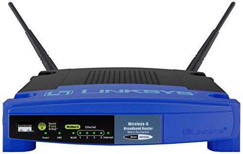 Linksys WRT54GL-EU - Router inalámbrico Wireless-G