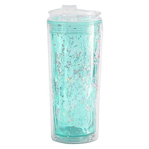 Plastik zerquetschte Eisbecher Kühlbecher mit Becher Studentenwasser kühler Sommerbecher@1