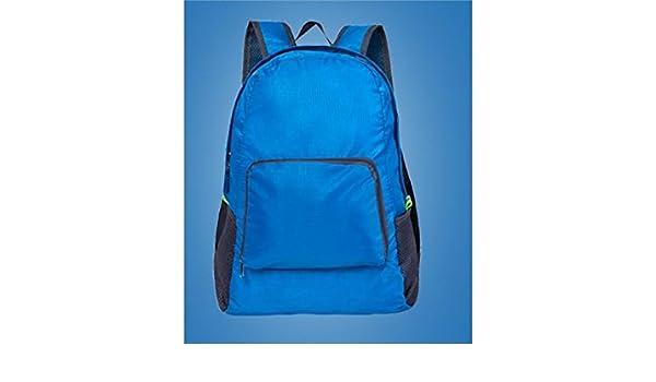 Zehaer Climb Backpack Travel Backpack,Walk Travel The Climb Nylon Backpack,Blue