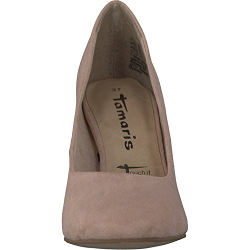 Tamaris 1-22436-28/521 Damen Pumps eleganter Boden 30 bis 50mm Absatz Rot (Rose)