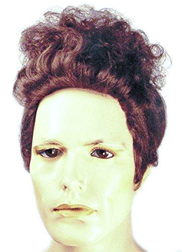 Cosmo Kramer Herren Perücke Seinfeld braun gelockt Michael Richards Kostüm Haar