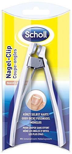 Scholl Fußnagel-Clip, Nagelclip, auch bei harten oder dicken Fußnägeln, 1er Pack (1 x 1 Stück)