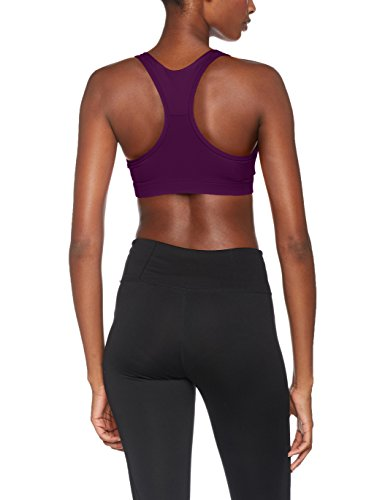 Puma Damen Pwrshape Forever-Logo Crop Top Dark Purple Cat